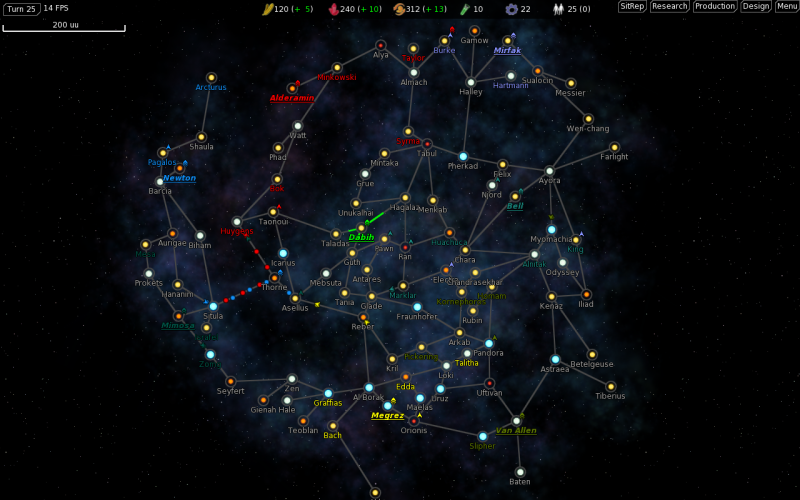 FreeOrion is a free, open source, turn-based space empire and ...